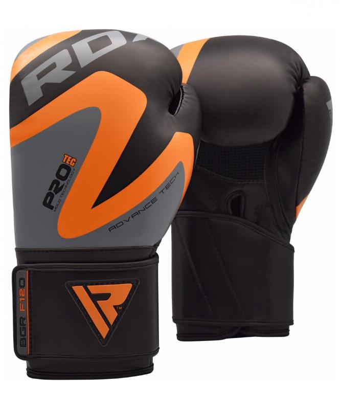 Перчатки боксерские REX F12 ORANGE BGR-F12O, 12 oz, RDX