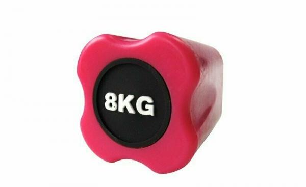 Бодибар FT 8 кг розовый наконечник Original FitTools FT-BDB-8
