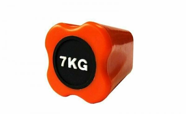 Бодибар FT 7 кг оранжевый наконечник Original FitTools FT-BDB-7