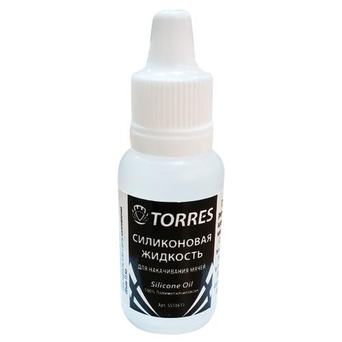 Силиконовая жидкость TORRES для накачивания мячей, арт. SS10615, 15 мл, полиметилсилоксан