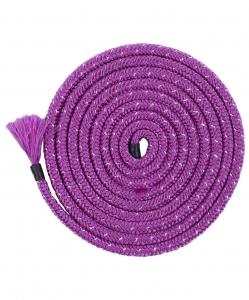 Скакалка для художественной гимнастики Cinderella Lurex Purple, 3м, Chanté