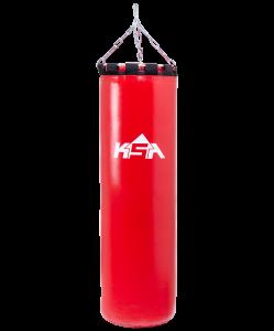 Мешок боксерский PB-01, 120 см, 45 кг, тент, красный, KSA