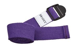 Ремешок для йоги фиолетовый BRADEX SF 0412
