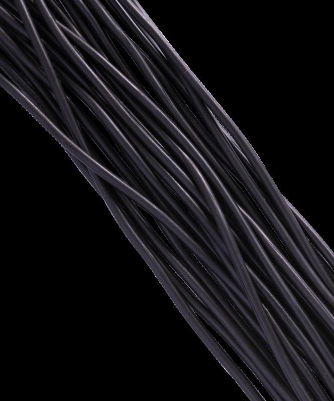 Скакалка резиновая с деревянной ручкой, 3,80 м (ТОЛЬКО по 10 шт.), Colton