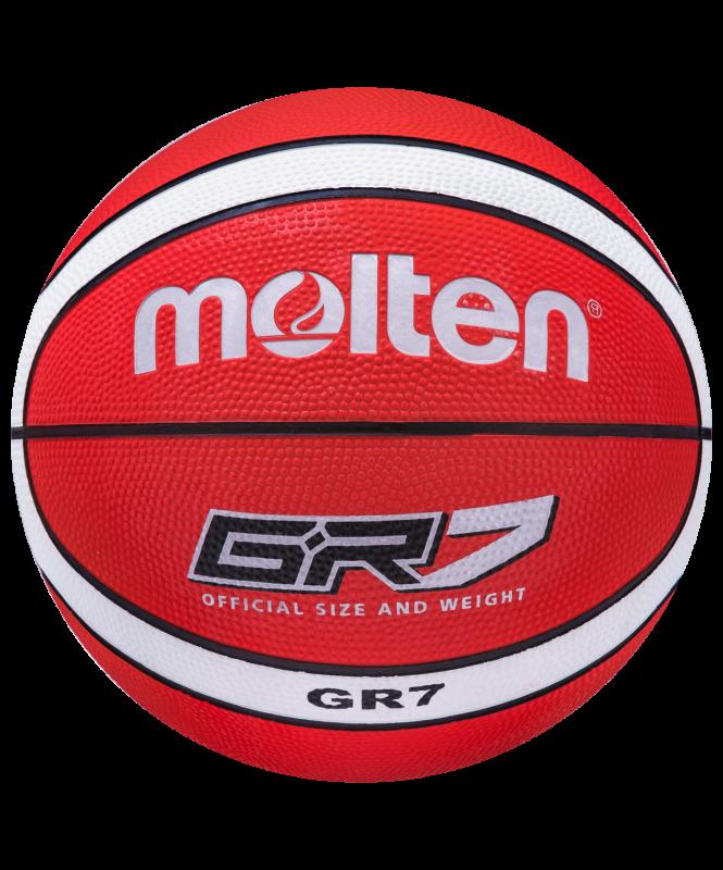 Мяч баскетбольный Molten BGR7-RW №7