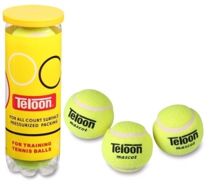 Мяч для большого тенниса TELOON 801Т Р3 (3 шт в тубе).