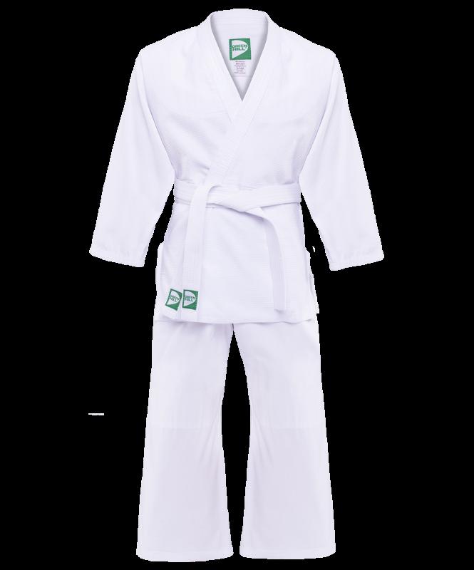 Кимоно дзюдо MA-301 белый, р.1/140, Green Hill