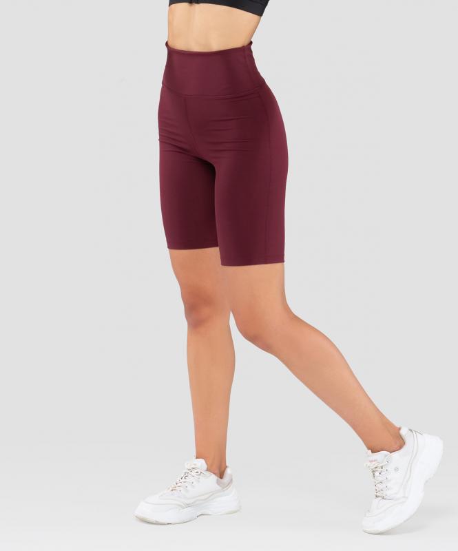 Женские спортивные шорты W-Define bordo FA-WS-0204-BRD, бордовый, FIFTY