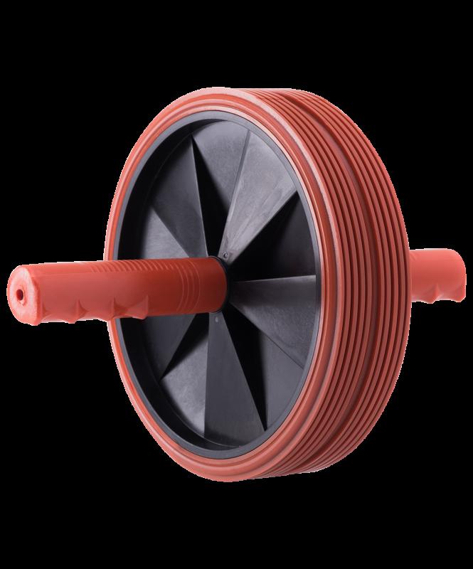 Ролик для пресса 2-колесный большой, BaseFit