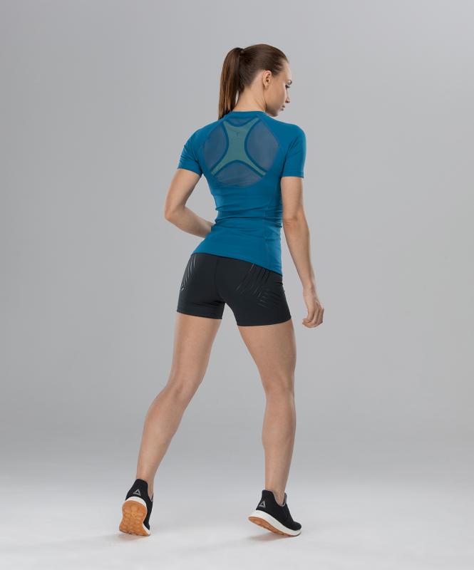 Женская компрессионная футболка Intense PRO FA-WT-0101, синий, FIFTY