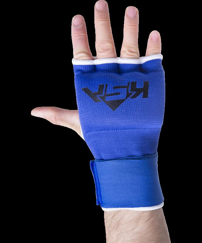 Внутренние перчатки для бокса Cobra Blue, S, KSA