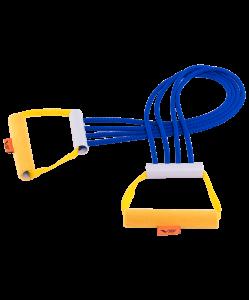 Эспандер плечевой резиновый, 4 струны, V76
