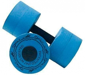 Гантели для аква-аэробики Sprint Aquatics Sprint Bells мaкcимaльнoe coпpoтивлeниe 725