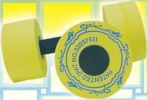 Гантели для аква-аэробики Sprint Aquatics Sprint Bells cpeднee coпpoтивлeниe 727