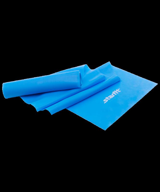 Эспандер ленточный для йоги ES-201, 1200х150х0,45 мм, синий, Starfit