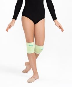 Наколенники для художественной гимнастики Celine Lime, хлопок, Chanté