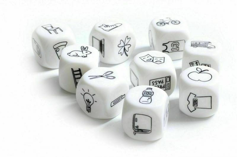 Кубики «СОЧИНИ ИСТОРИЮ» BRADEX DE 0140