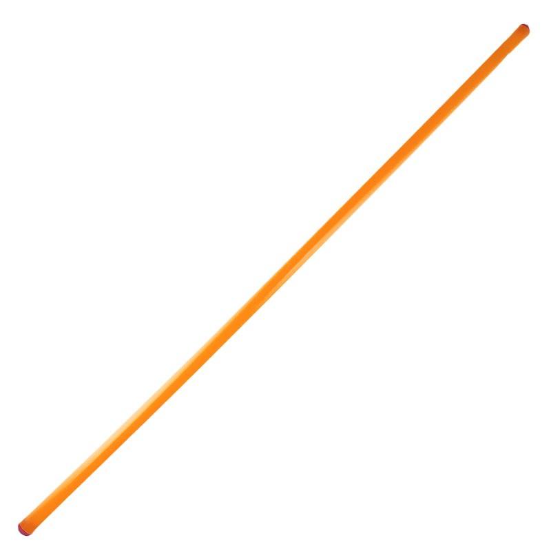 Штанга (КТ) для конуса, арт.MR-S120, диаметр 2,4см, длина1,2 м, жест.пластик, оранж MADE IN RUSSIA
