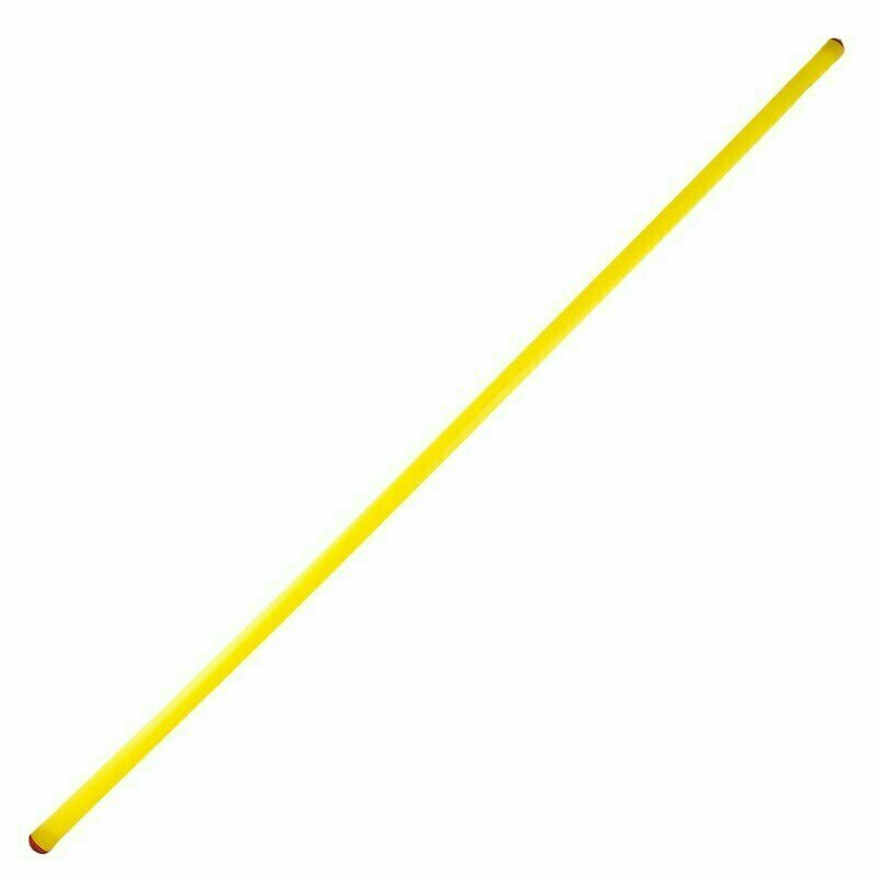 Штанга для конуса, арт.У624/MR-S106, диаметр 2,2 см, длина 1,06 м, жесткий пластик, желтый MADE IN RUSSIA