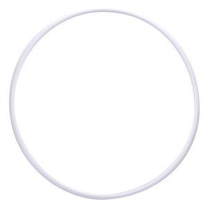 Обруч гимнастический ЭНСО пластиковый d 800 мм, арт.MR-OPl800, белый, под обмотку, ТОЛЬКО УПАКОВ. ПО 5 ШТ MADE IN RUSSIA