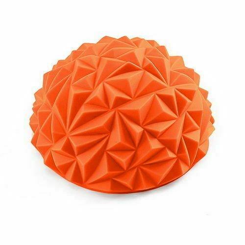 Полусфера массажная круглая надувная d-16 см C33512-7 оранжевый