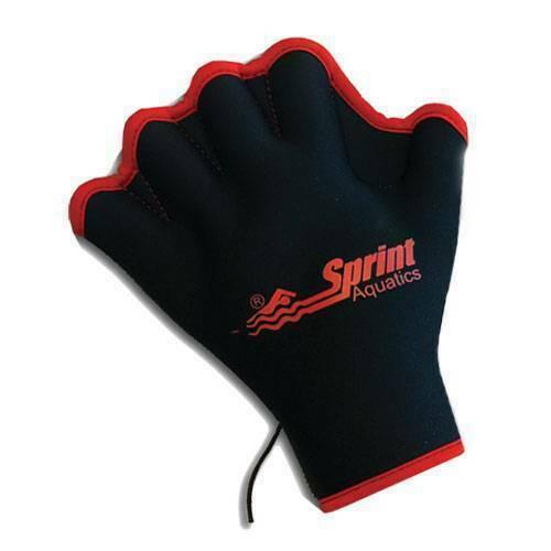 Перчатки для аква-аэробики неопреновые (без пальцев) Sprint Aquatics Fingerless Force Gloves 775