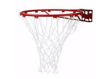 Баскетбольное кольцо Spalding Standart (красное)