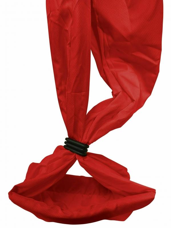 Йога-гамак Universal RamaYoga красный, 165 см, 1.6 кг