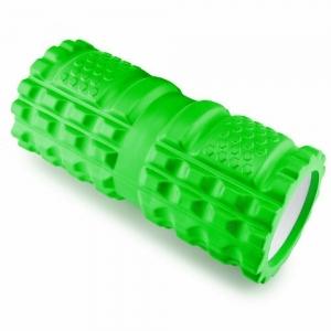 Ролик для йоги (зеленый) 33х14 см. ЭВА/АБС B32208