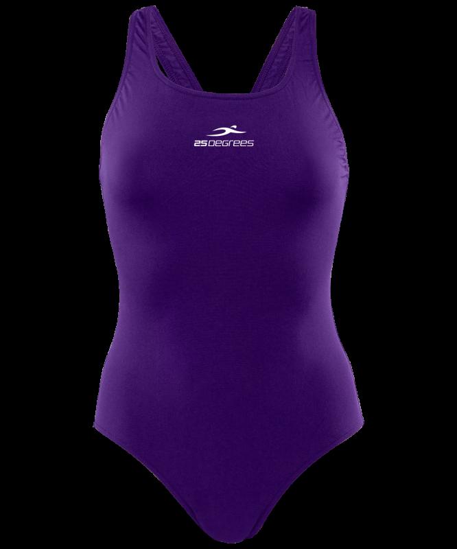 Купальник для плавания Embody Purple, полиамид, 25Degrees