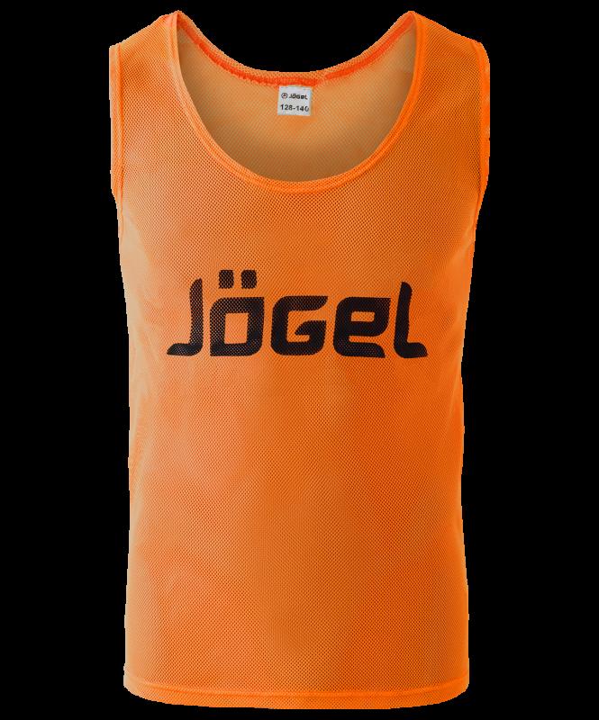 Манишка сетчатая JBIB-1001, детская, оранжевый, Jögel