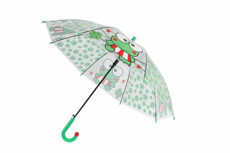 Зонт прозрачный «ЛЯГУШКА» BRADEX DE 0502