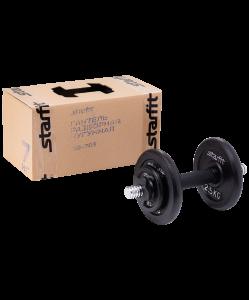 Гантель разборная чугунная DB-703, 7 кг, Starfit