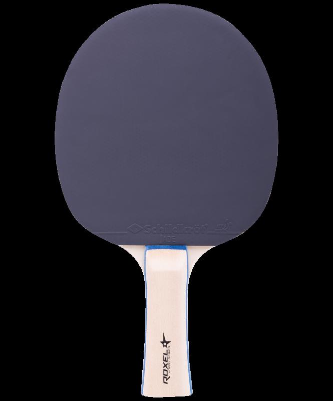 Набор для настольного тенниса Hobby Progress, 2 ракетки, 3 мяча, сетка, Roxel
