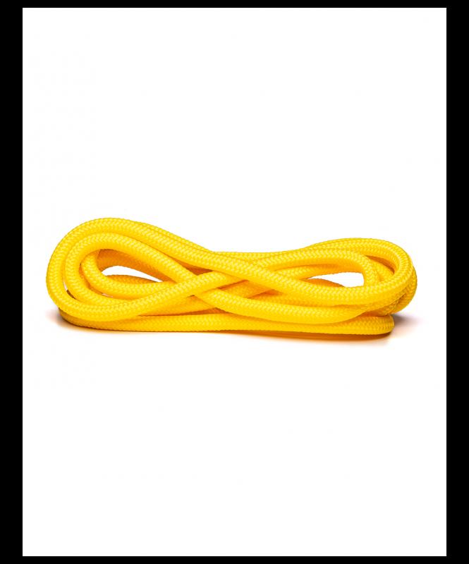 Скакалка для художественной гимнастики RGJ-401, 3м, желтый, Amely