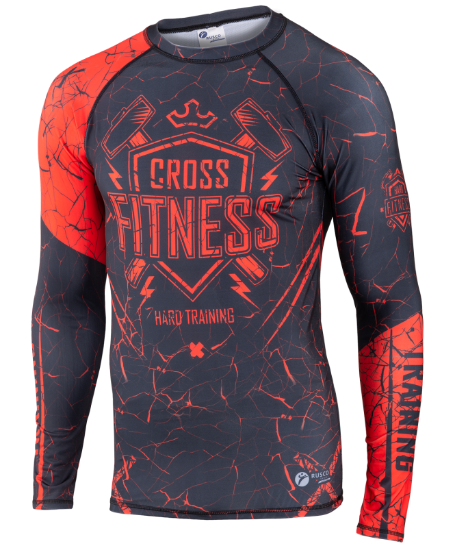 Рашгард для MMA Cross Fitness, детский, Rusco