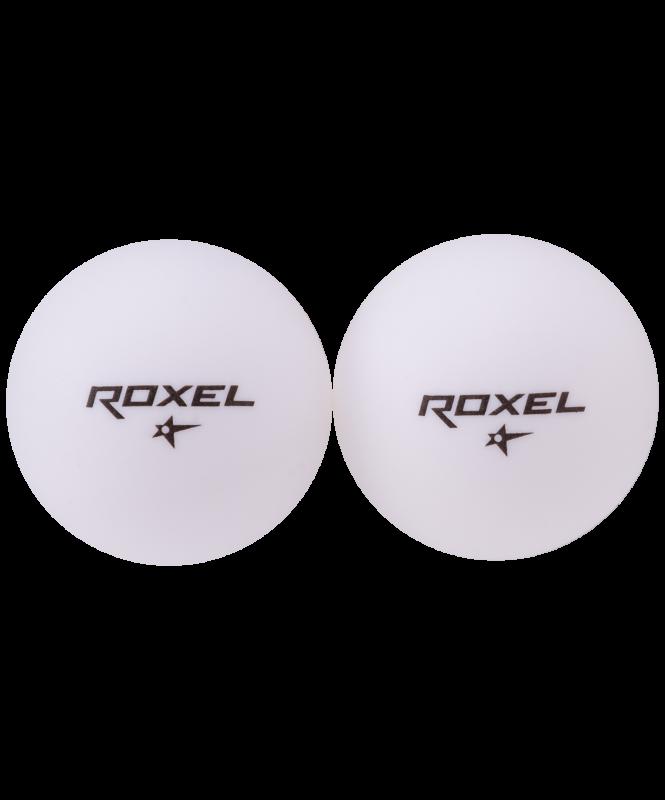 Мяч для настольного тенниса 1* Tactic, белый, 6 шт., Roxel