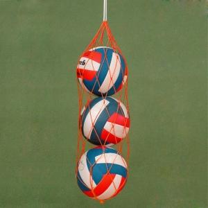 Сетка на 10-12 мячей, арт.FS-№10, 2 мм ПП, ячейка 10см, различные цвета MADE IN RUSSIA