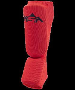 Защита голень-стопа Rock Red, хлопок, KSA