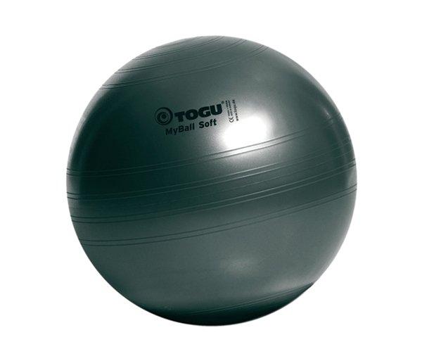 Мяч гимнастический TOGU My Ball Soft 65 см. черный перламутровый