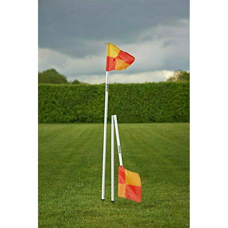 Флаг угловой складной MITRE арт. A9111WA1,складной,съем.штык,КОМПЛ.4 шт,выс.153 см,пластик,бел-мульт