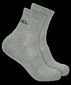 Носки средние ESSENTIAL Mid Cushioned Socks, меланжевый, Jögel