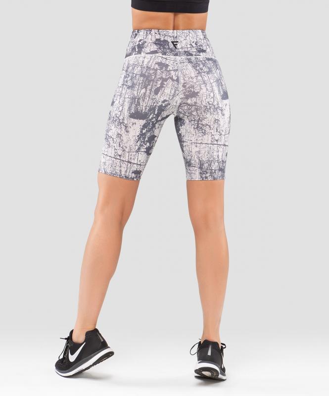 Женские спортивные шорты Nude Marble FA-WS-0202-689, с принтом, FIFTY