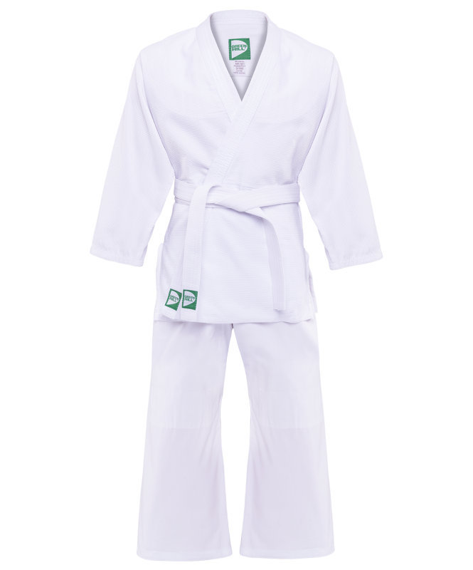 Кимоно дзюдо MA-302 белый, р.3/160, Green Hill