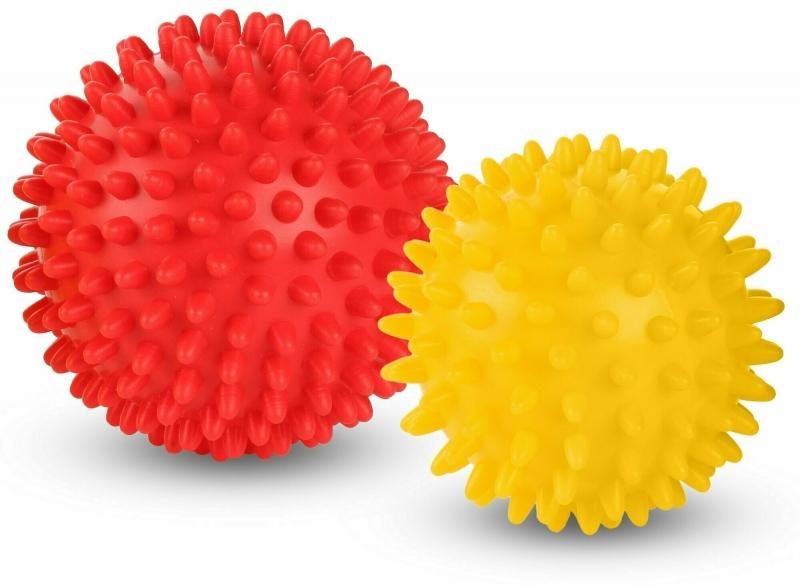 Набор массажных мячей INDIGO (2 шт)