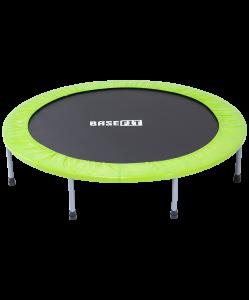 Батут TR-102 137 см, зеленый, BaseFit