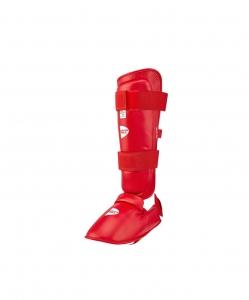 Защита голень-стопа SIP-2145, красный, Green Hill
