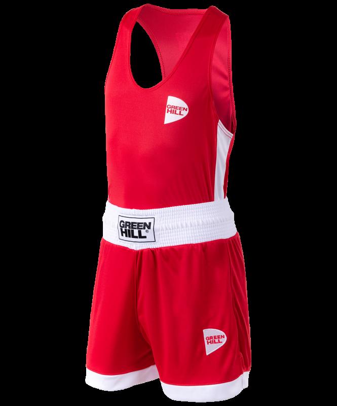 Форма боксерская Interlock BSI-3805, красный, Green Hill