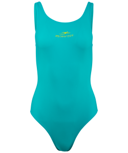 Купальник для плавания Bliss Green, полиамид, подростковый, 25Degrees