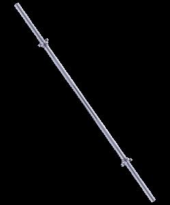 Гриф для штанги прямой Core BB-103 150 см, d=25 мм, металлический, с металлическими замками, Starfit